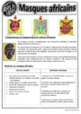 Exercice Art premier / art primitif : CE2