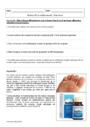 Exercice Autour d'un médicament : Seconde - 2nde