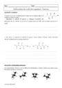 Exercice Conformations des molécules organiques : Terminale
