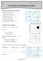 Exercice Coordonnées d'un point : CM1
