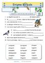 Exercice Énigmes lexicales : CE1