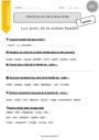 Exercice Familles de mots : CE1