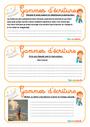Exercice Gammes d'écriture : CM2