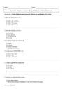 Exercice La mole unité de mesure de quantités en chimie : Seconde - 2nde