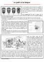 Exercice Le corps humain et l'éducation à la santé : CM2