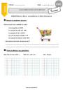 Exercice Nombres décimaux : CM1