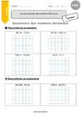 Exercice Nombres décimaux et opérations : CM2