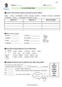 Exercice Orthographe : CM1