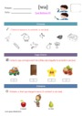 Leçon et exercice : Français : Maternelle - Cycle 1
