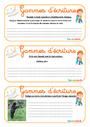 Leçon et exercice : Gammes d'écriture : CM1