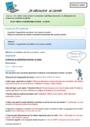 Leçon et exercice : Informatique : CM2
