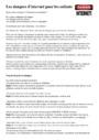 Leçon et exercice : Internet - Créer une boîte mail : CM1