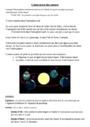 Leçon et exercice : L'alternance des saisons : CM1
