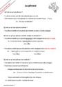 Leçon et exercice : La phrase : CM1