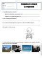 Leçon et exercice : La respiration : CE1