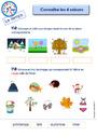 Leçon et exercice : Le temps : Maternelle - Cycle 1