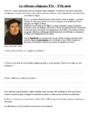 Leçon et exercice : Les réformes religieuses : CM1