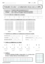 Leçon et exercice : Multiplication : CE1