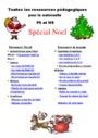 Leçon et exercice : Noël : PS - Petite Section