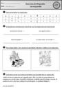 Leçon et exercice : Orthographe : CP