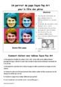 Leçon et exercice : Portraits : CE2
