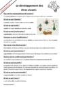 Leçon et exercice : Sciences - Nouveau programme : CM2