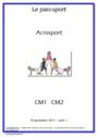 Séquence - Fiche de préparation EPS Education Physique et sportive : CM1