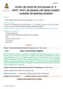 Séquence - Fiche de préparation Futur de l'indicatif : CM1