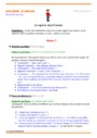 Séquence - Fiche de préparation Le temps : MS - Moyenne Section