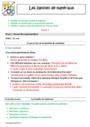Séquence - Fiche de préparation Matériaux et objets techniques : CM2