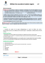 Séquence - Fiche de préparation Orthographe : CM2
