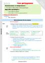 Séquence - Fiche de préparation Polygones : CM1