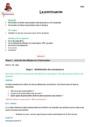 Séquence - Fiche de préparation Ponctuation : CM2