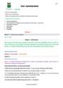 Séquence - Fiche de préparation Synonymes : CM1