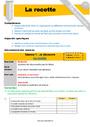 Séquence - Fiche de préparation Textes prescriptifs / Ecrits fonctionnels : CM2