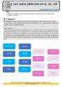 Révision, soutien scolaire - Accord du nom / pluriels particuliers : CM1