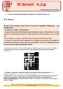 Révision, soutien scolaire - M devant m, b, p : CE2