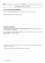 Cours et exercice : Suites géométriques : Première