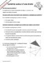 Cours et exercice : Symétrie axiale : 6ème