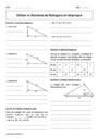 Cours et exercice : Théorème de Pythagore : 4ème
