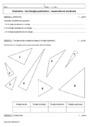 Cours et exercice : Triangles : 6ème