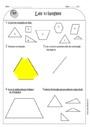 Leçon et exercice : Triangles : CE1