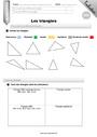 Leçon et exercice : Triangles : CM1