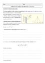 Cours et exercice : Utilisation de la figure de diffraction : Terminale