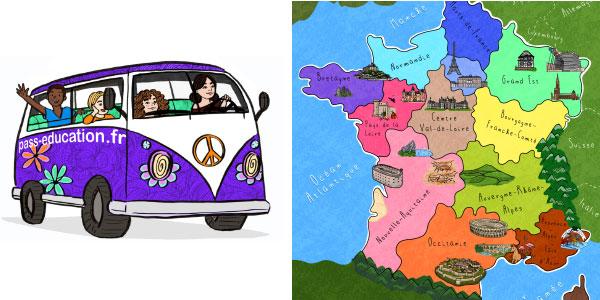 Un petit tour en France - Pass Education