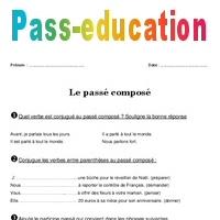 Passe Compose Ce2 Exercices A Imprimer