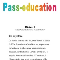 Dictees Cm2 Exercices Orthographe Francais Cycle 3