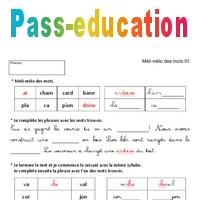 Vocabulaire Ludique Ce1 Exercices Corriges Francais Cycle 2
