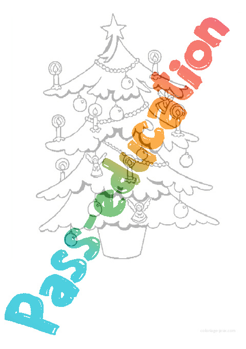 Coloriages Noel Maternelle Grande Section Gs Cycle 2 Pass Education