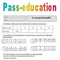 Proportionnalite Cm2 Exercices Corriges Organisation Et Gestion Des Donnees Mathematiques Cycle 3